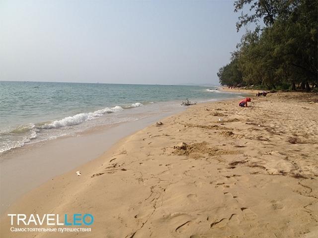 Пляж Бай Дай (Bai Dai) остров Фукуок, Вьетнам