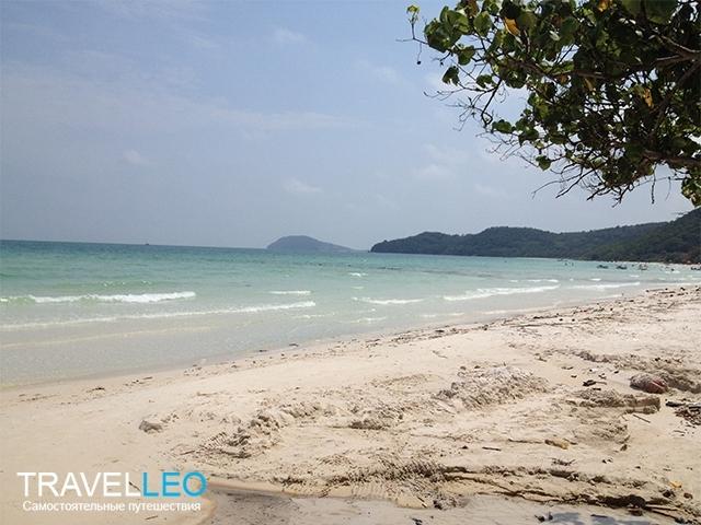 Пляж Бай Сао (Bai Sao) остров Фукуок Вьетнам