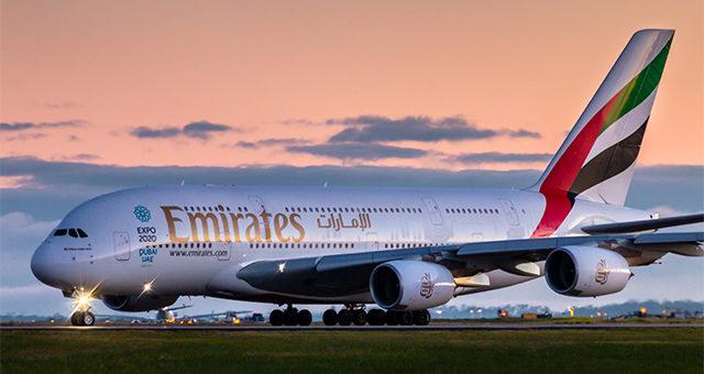 Emirates: скидка 10% на авиабилеты - промокод Эмирейтс