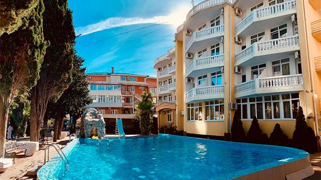 Отель Грейс Кипарис 3*