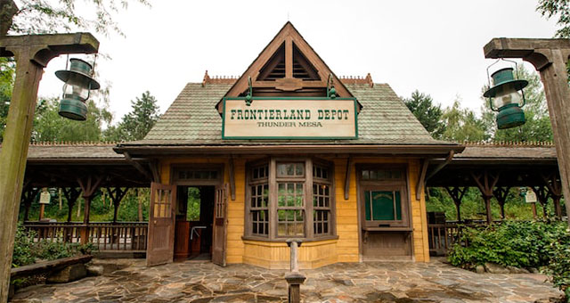 Frontierland в Disneyland Paris
