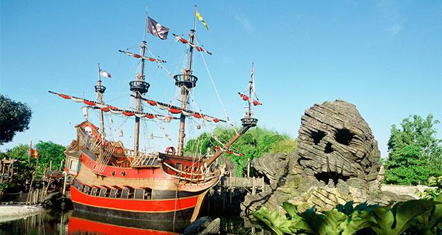 Adventureland в Disneyland Paris