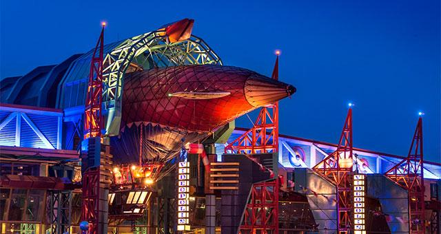 Discoveryland в Диснейленде Париж