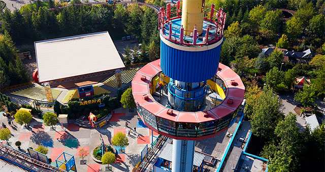 Observation Tower в Legoland Germany