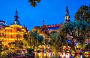 Парк Тиволи в Копенгагене - цены, как добраться, отели рядом