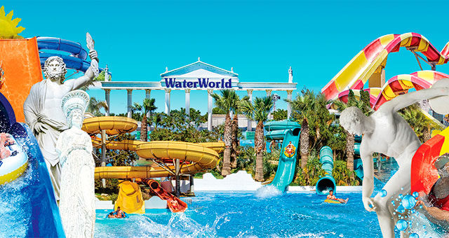 Аквапарк Water World Айя Напа - Кипр