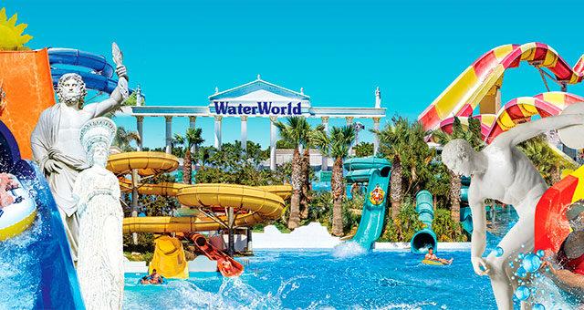 Аквапарк Water World Айя Напа - Кипр