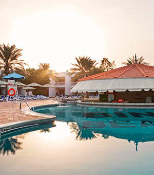 Отель Bin Majid Beach Resort 4*