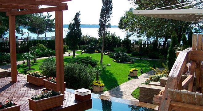 Отели в Геленджике на берегу моря - Мини-отель «Геленджик Парк» 5*