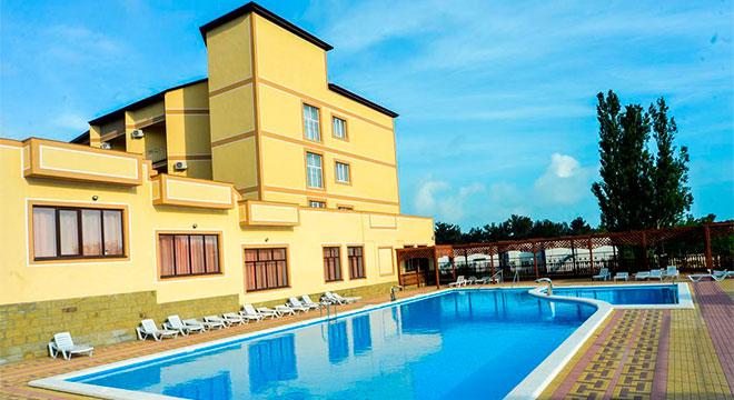 Отели в Геленджике на берегу моря - Санаторий «Русь» 3*