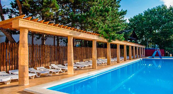 Отели в Анапе все включено с бассейном - Олимп Курортный отель All Inclusive