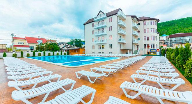 Отели в Анапе все включено с бассейном - Отель Демократия