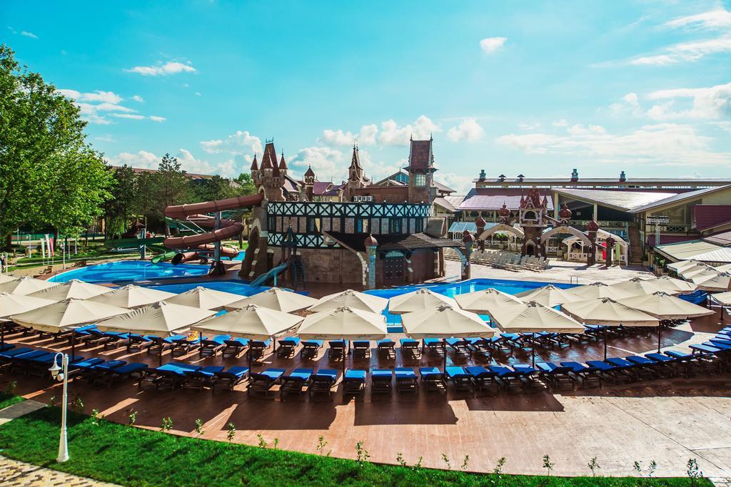 Отели в Анапе все включено с бассейном - Alean Family Resort & SPA Doville 5*