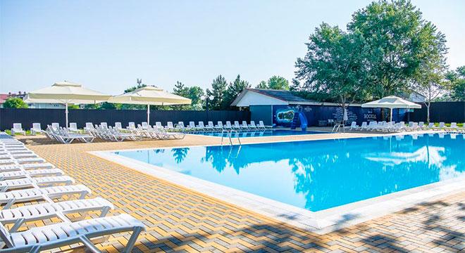 Отели в Анапе все включено с бассейном - Парк-отель Восход All Inclusive