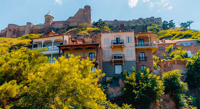 Отели в Тбилиси в центре - Citadel Narikala Hotel 4*