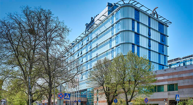 Отели Калининграда в центре города - Radisson Blu Hotel Kaliningrad 4*