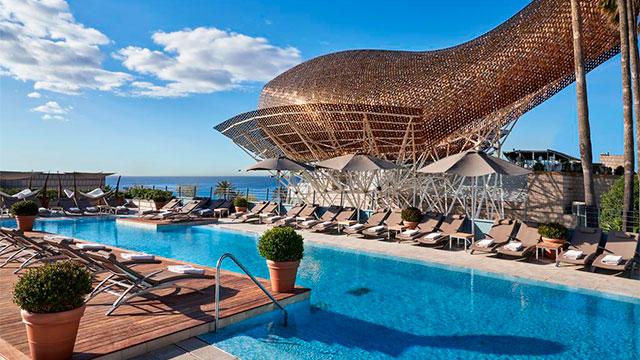 Hotel Arts Barcelona 5* - Пляжные отели Барселоны рядом с морем