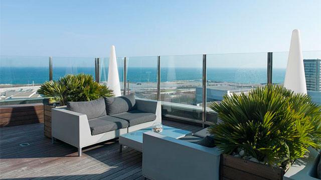 Отели Барселоны рядом с пляжем - Hotel SB Diagonal Zero Barcelona 4* Sup