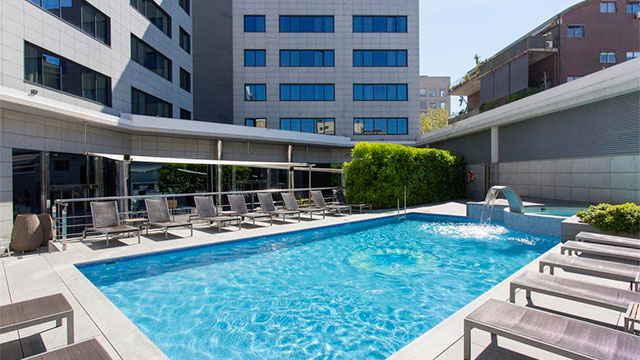 Отели Барселоны рядом с пляжем - Hotel SB Icaria Barcelona 4*