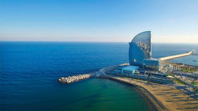 W Barcelona 5* - Пляжные отели Барселоны рядом с морем