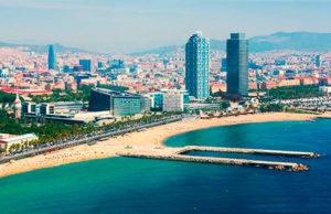 Отели Барселоны рядом с пляжем и морем