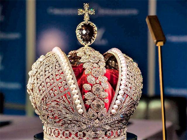 Алмазный фонд - выставка-музей в Москве