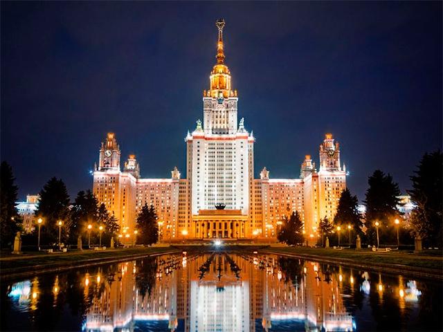 Воробьёвы горы - главная смотровая площадка Москвы