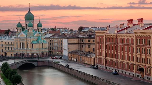 Исторический район Коломна в Санкт-Петербурге
