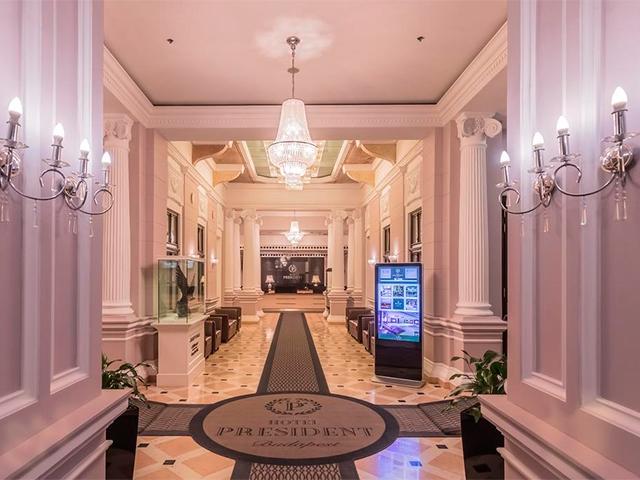 Отель Hotel President 4*
