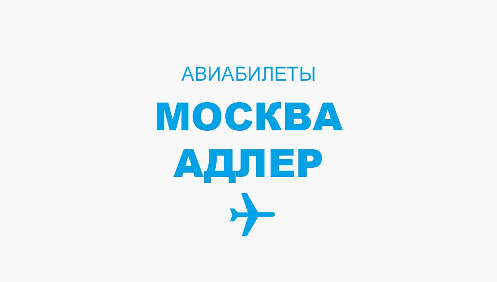 авиабилет москва адлер