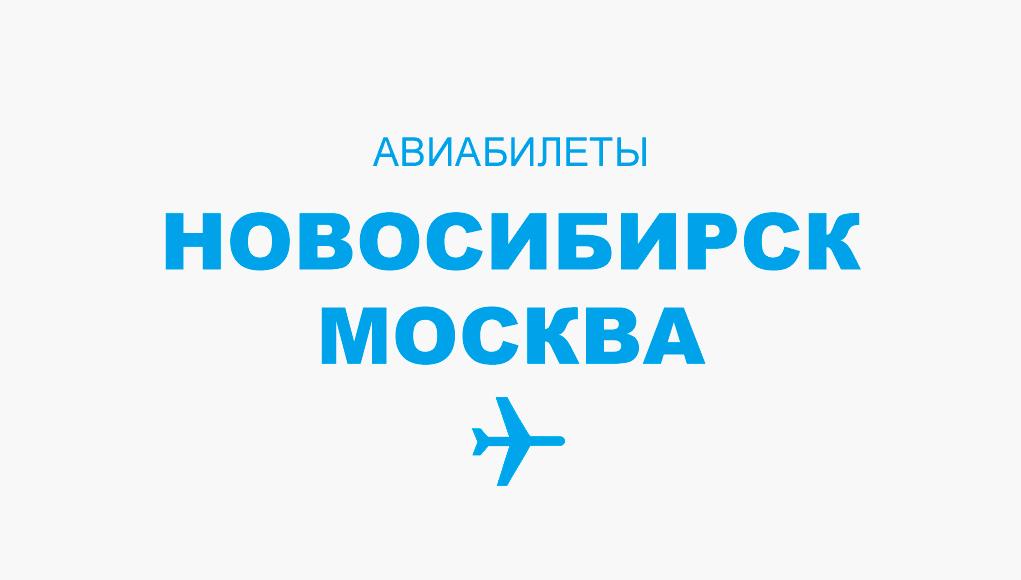 Цены на авиабилеты новосибирск москва