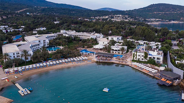 Отель Samara Hotel Bodrum All Inclusive 5*